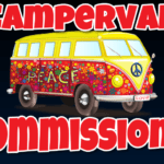Campervan Commissions Review – How I make $200 Per Day From My Campervan